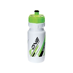 BO7BV - Borraccia BRN B-One 600ml Bianca/Verde Fluo