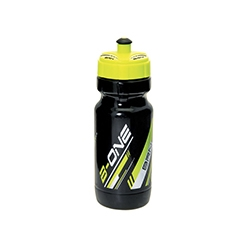 BO7NG - Borraccia BRN B-One 600ml Nera/Giallo Fluo