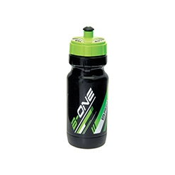 BO7NV - Borraccia BRN B-One 600ml Nera/Verde Fluo