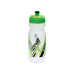 BO7TV - Borraccia BRN B-One 600ml Trasparente Verde Fluo