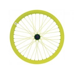 RFIXED - Ruote fixed giallo fluo
