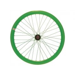 RFIXED - Ruote fixed verde fluo