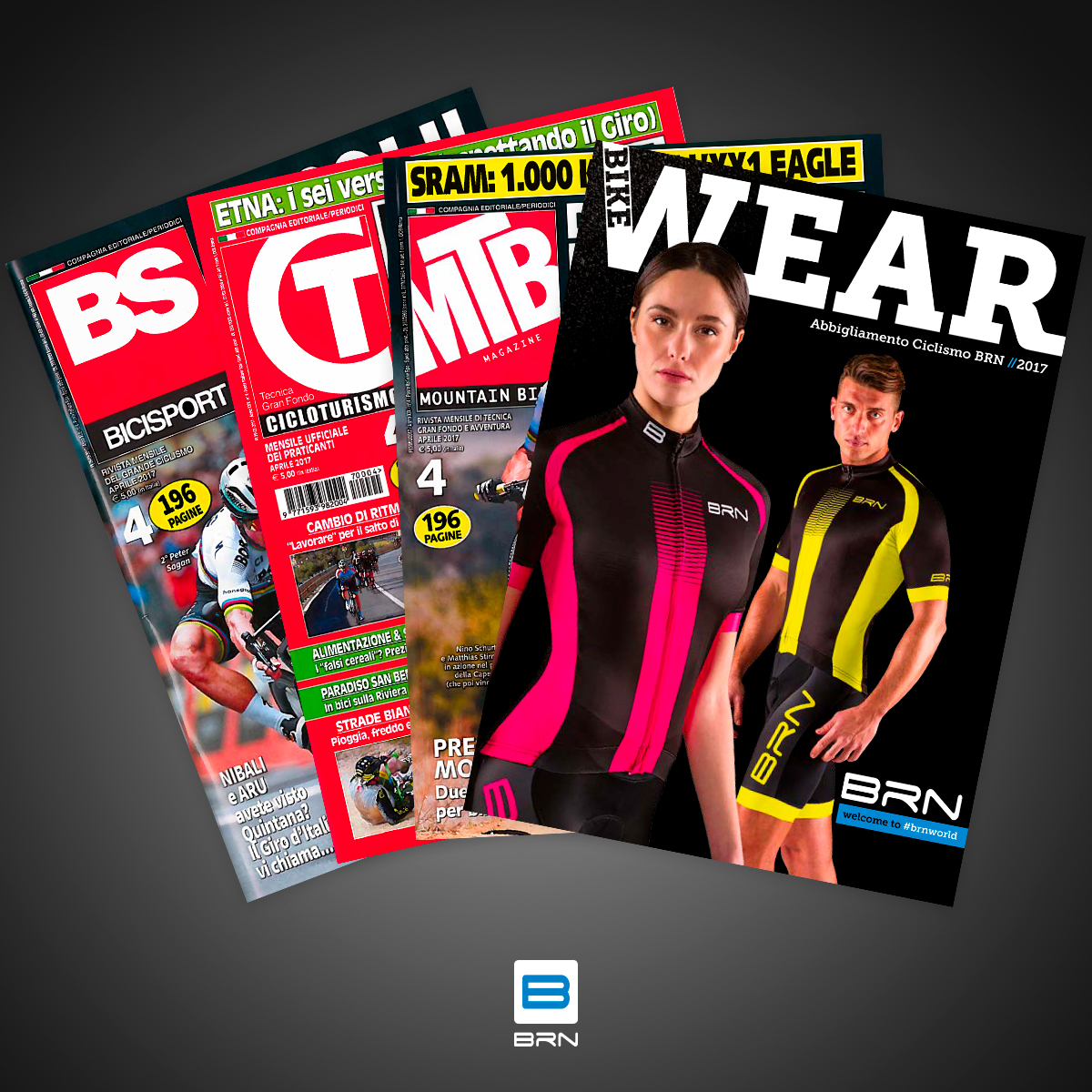 BRN Bike Wear inserto in edicola